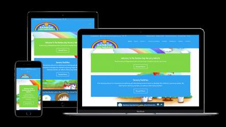 web-design-seo-larne-client-portfolio-rainbow-nursery