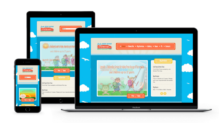 web-design-seo-larne-client-portfolio-larne-childminder